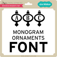 Monogram Ornaments Font