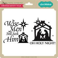 Christmas Nativity Titles