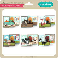 Pop Up Box Card Fall Bundle