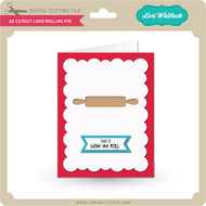 A2 Cutout Card Rolling Pin