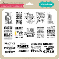 School Teacher Phrase Bundle