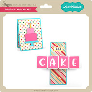 Twist Pop Card Eat Cake