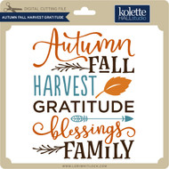 Autumn Fall Harvest Gratitude