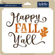 Happy Fall Y'all 2