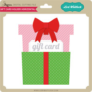 Gift Card Holder Horizontal