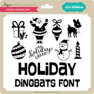 Holiday Dingbats Font