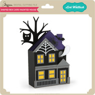 Shaped Box Card Haunted House