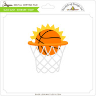 Slam Dunk Sunburst Hoop