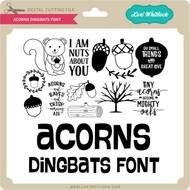 Acorn Dingbats Font