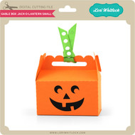 Gable Box Jack O Lantern Small