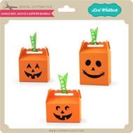 Gable Box Jack O Lantern Bundle