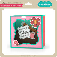 Shadow Box Card Scene Bobbin