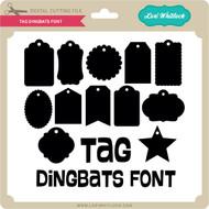 Tag Dingbats Font