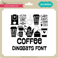 Coffee Dingbats Font