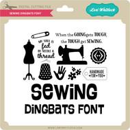 Sewing Dingbats Font