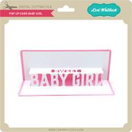 Pop Up Card Baby Girl