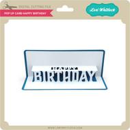 Pop Up Card Happy Birthday
