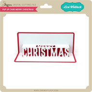 Pop Up Card Merry Christmas