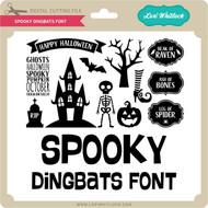 Spooky Dingbats Font