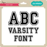 Varsity Font