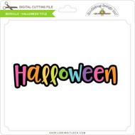 Booville - Halloween Title