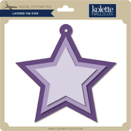 Layered Tag Star