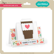 Center Step Card Latte