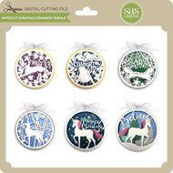 Papercut Christmas Ornament Bundle