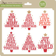 Scandi Christmas Tree Bundle