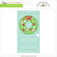 Milk & Cookies - Door Wreath