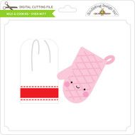 Milk & Cookies - Oven Mitt