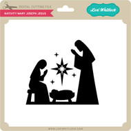 Nativity Mary Joseph Jesus