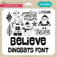 Believe Dingbats Font