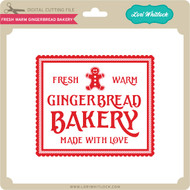 Fresh Warm Gingerbread Bakery