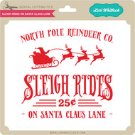 Sleigh Rides on Santa Claus Lane