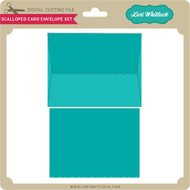 Scalloped Card Envelope Set