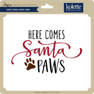 Here Comes Santa Paws