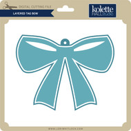 Layered Tag Bow