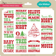 Christmas Phrase Bundle