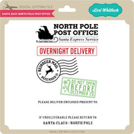 Santa Sack North Pole Post Office