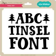 Tinsel Font
