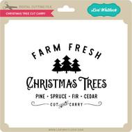 Christmas Tree Cut Carry