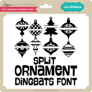 Split Ornaments Dingbats Font