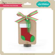 Christmas Tag Stocking