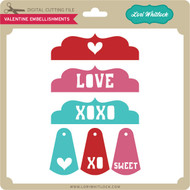 Valentines Embellishments