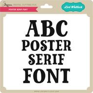 Poster Serif Font