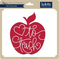 Love to Teach Apple