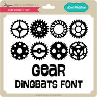 Gear Dingbats Font