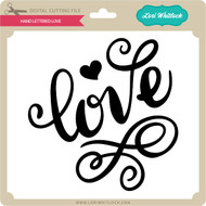 Hand Lettered Love