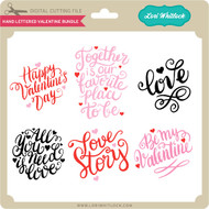 Hand Lettered Valentine Bundle